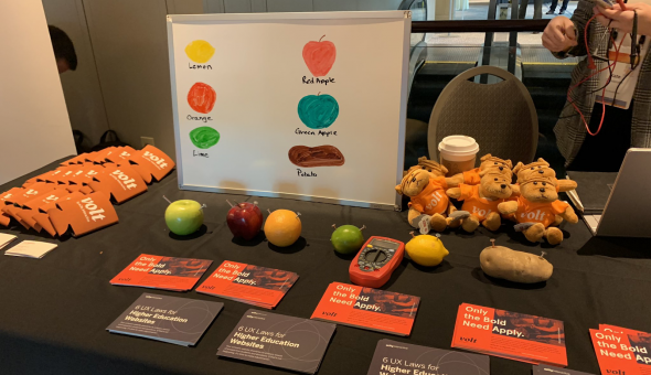 Volt table at eduWeb 2019