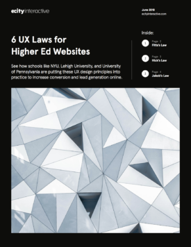 6 UX Laws for Higher Ed Websites
