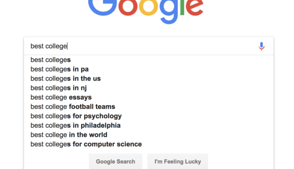 Google Autocomplete Keyword Research