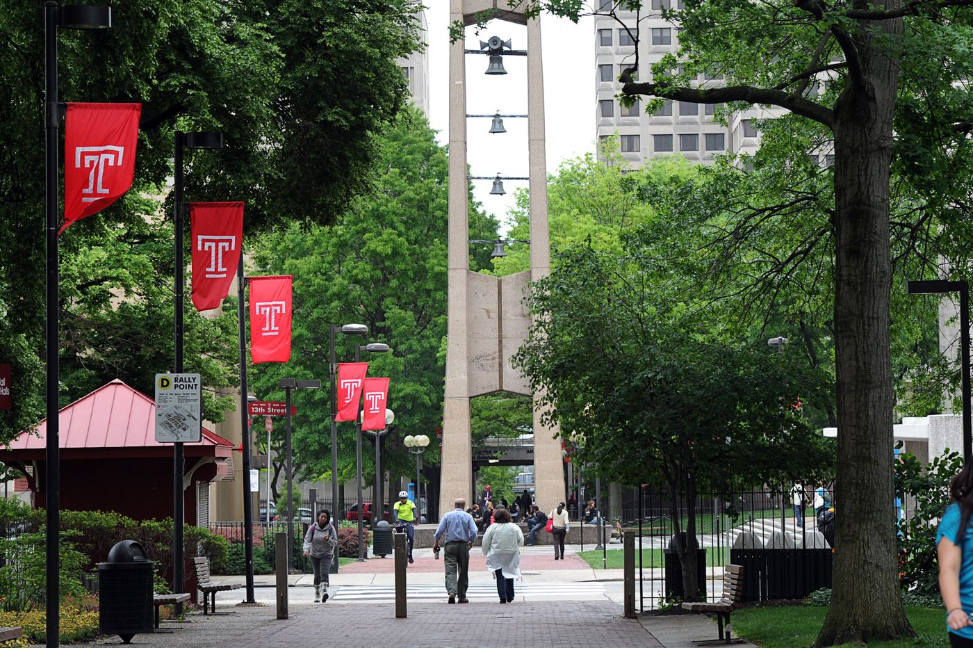 Temple University Bell Tower