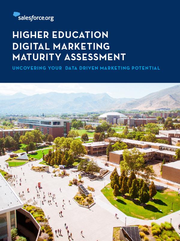 Data-Driven Marketing Maturity Assessment for Higher Ed
